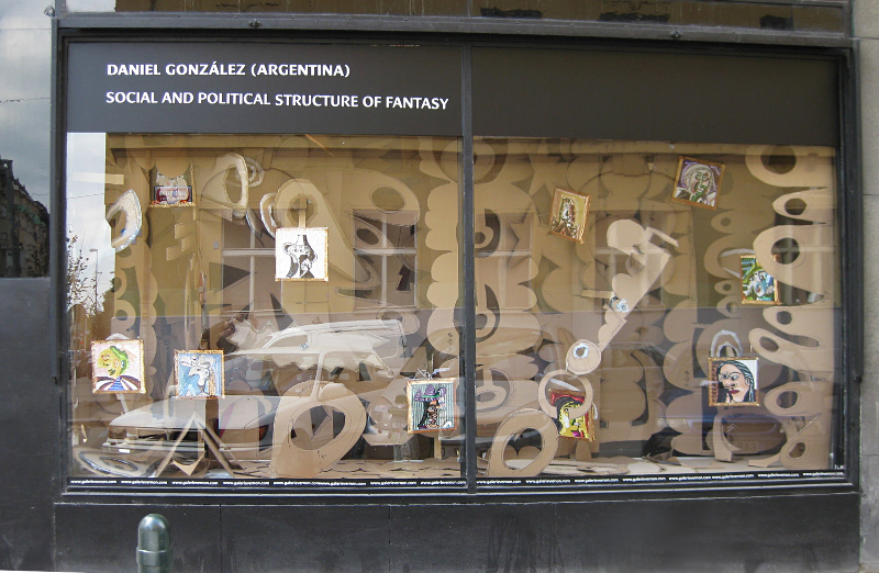 Daniel González, Social & Political Structure of Fantasy, Vernon Project, Prague, 2010