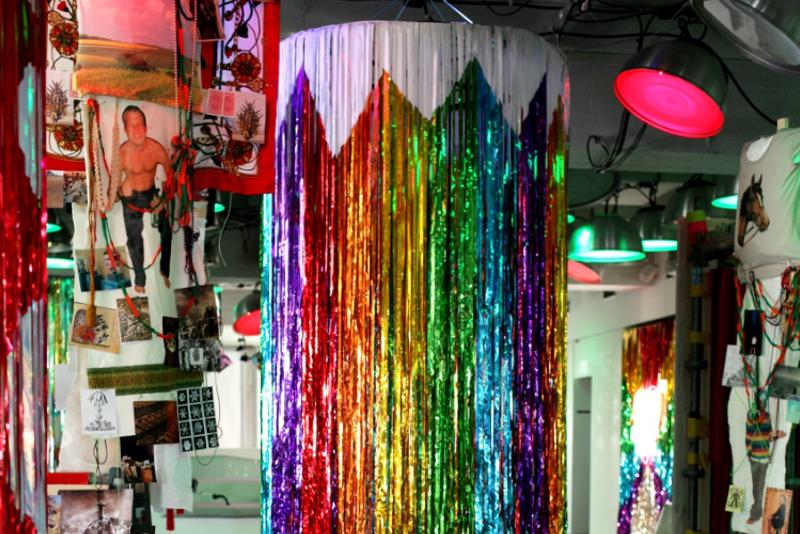Dancer Column Rainbow Lamp, 2011