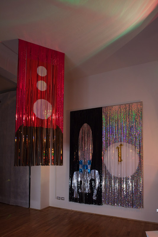 Disco Le Corbusier, installation view, Rizome, Bologna, 2010