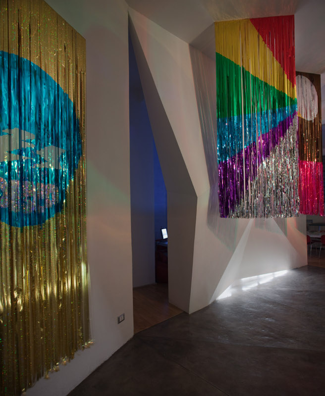 Disco Le Corbusier, installation view, Rizoma, Bologna, 2010