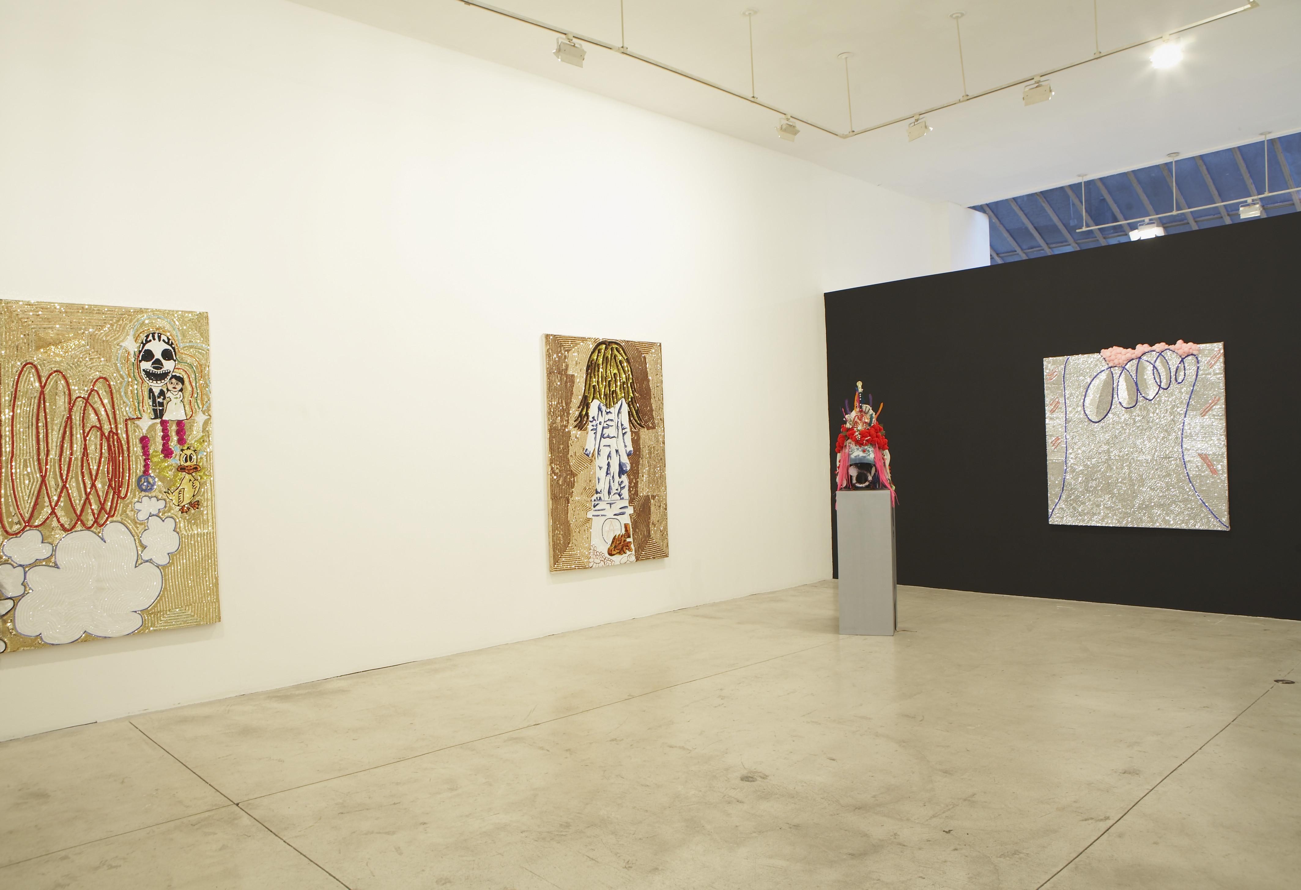 No Money No Honey, installation view, Spencer Brownstone Gallery, 2008
