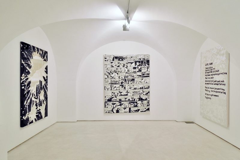 Super Reality, solo show, installation view, Galleria Valentina Bonomo, 2015