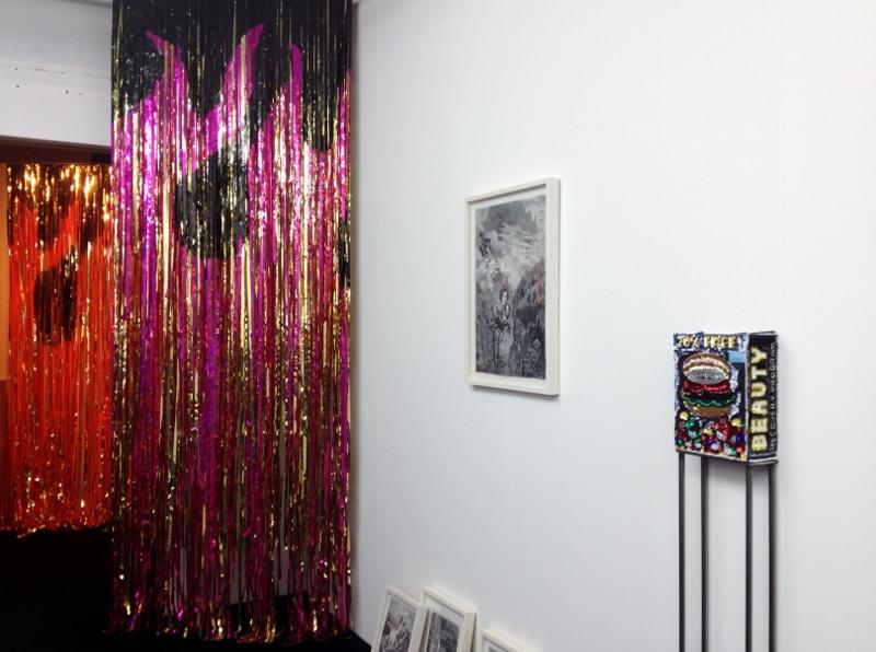 Daniel González, Flower pot, 2015, Mars Marsèll Art Run Space, installation view, Padua, Italy, 2015