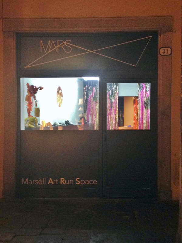 Mars Marsèll Art Run Space, installation view, Padua, Italy, 2015