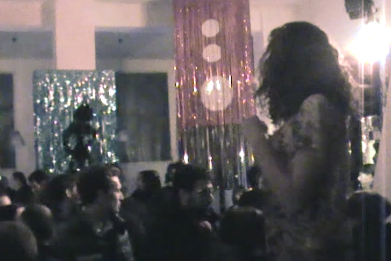 Daniel González, Disco Le Corbusier, frame from video, Rizoma, Bologna, 2010