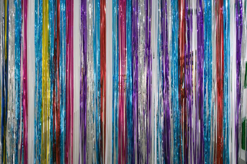Daniel González, Dance stripes after Newman, detail, Pimp Art History, Diana Lowenstein Gallery, Miami, 2010