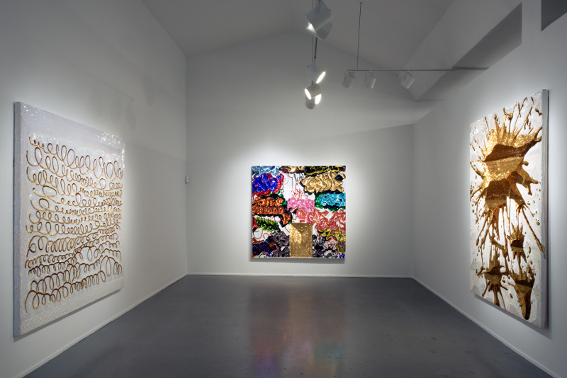 Daniel González, Pimp Art History, installation view, Diana Lowenstein Gallery, Miami, 2010