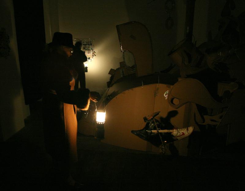 Daniel González, Officina Italiana di Realtà Anticonformista, Alessandro Marena Project, Turin, 2010