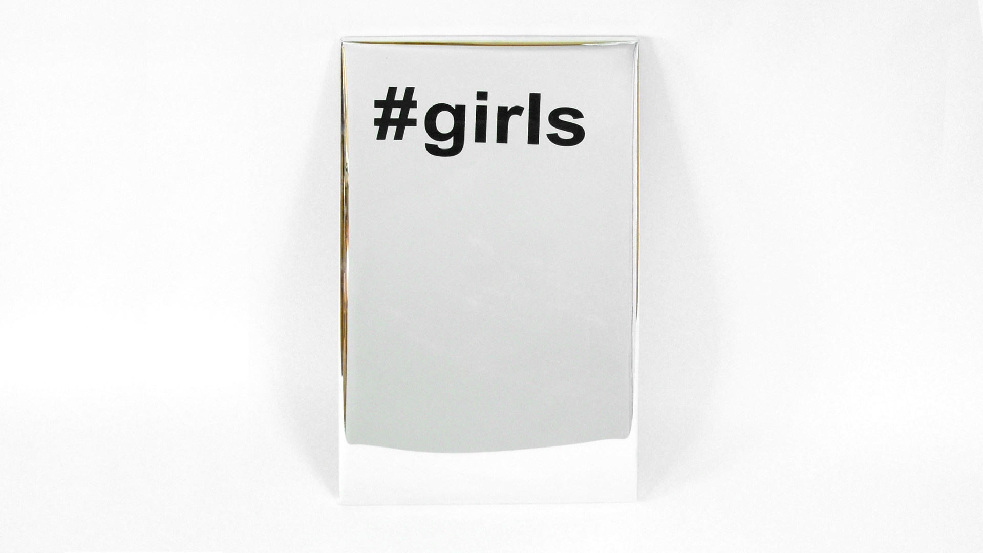 #girls, 2017, acrylic silkscreen on Mylar, Your Stories, solo show, 2017