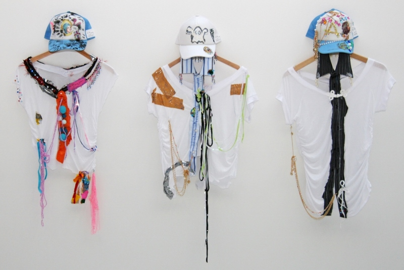 Daniel González D.G. Clothes Project, National Gallery Prague, installation view, Tina B Festival, Prague, 2006