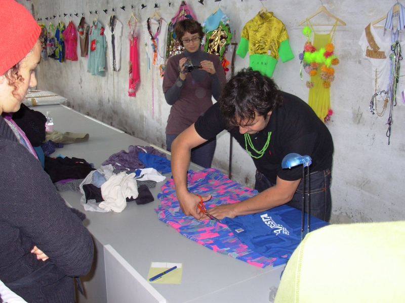 Daniel González D.G. Clothes Project, My Clothes, Manifesta 7 Bozen, 2008