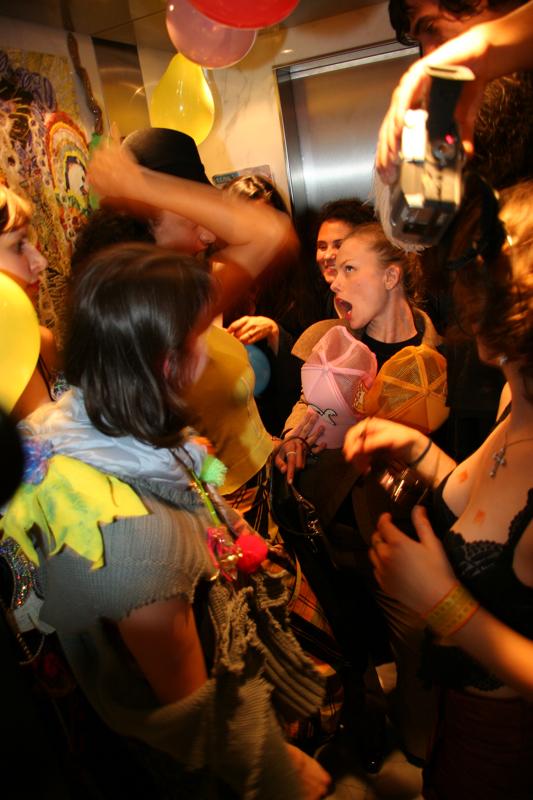 Daniel González D.G. Clothes Project, Kinky Readymade live, 2007