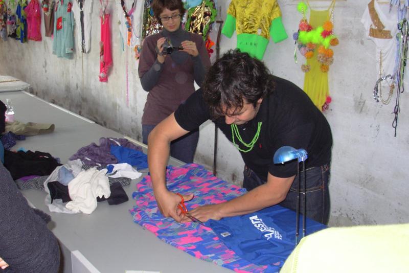Daniel González, My Clothes, Manifesta 7, 2008
