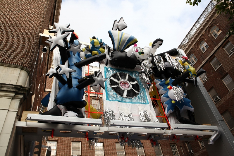 Daniel González, Pop-Up Museo Disco Club, 2011, Museo El Barrio, Biennale The X Files, 2011