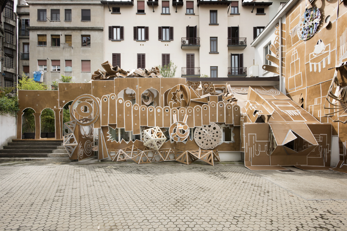 Pop-Up Building Milan, Marsèlleria, Milan, 2015, ph Carola Merello