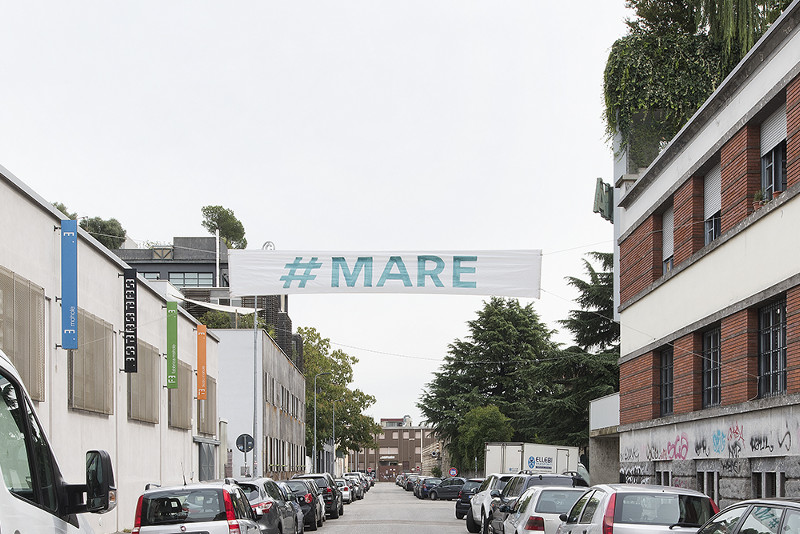 Daniel González, Imaginary Country, public art installation, 2017, Milan ph Carola Merello