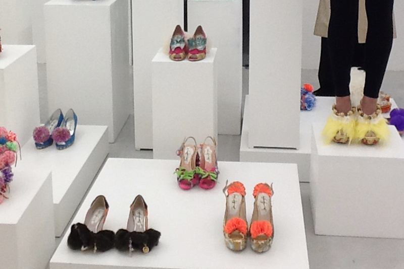 D.G. Clothes Project, Juliet & the Forbidden Games Shoes, installation view, Studio La Città, Verona, 2013