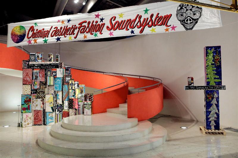 Criminal Aesthetic Fashion Soundsystem, main hall, Patrizia Pepe, 2013