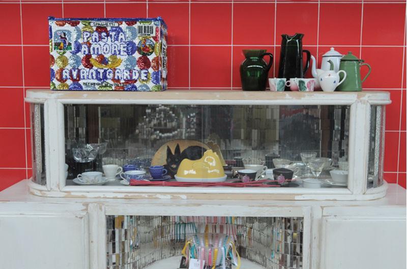 Criminal Aesthetic Fashion Soundsystem, kitchen room, Patrizia Pepe, 2013