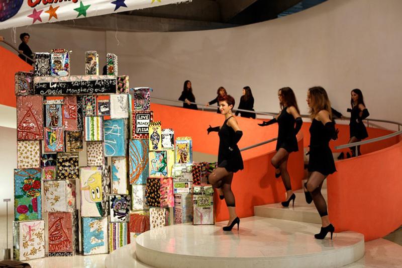 Criminal Aesthetic Fashion Soundsystem, performance frame, Patrizia Pepe, 2013