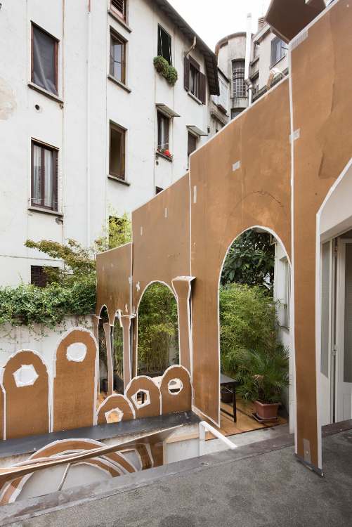 Daniel González , Pop-Up Building Milan, Marsèlleria, Milan, 2015, ph Carola Merello