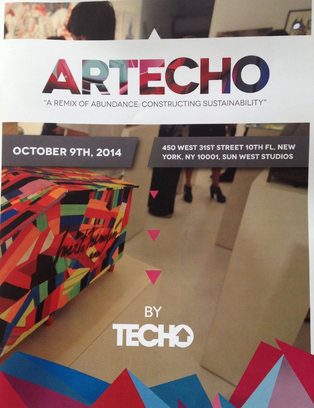 Artecho, 2014, group show curated by Tam Gryn and Alejandra Essayag, New York City