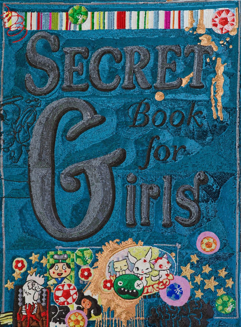 Secret Book for Girls - Cover, 2011