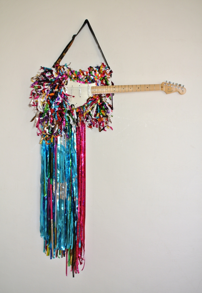 Macho Stratocaster Piñata, 2012