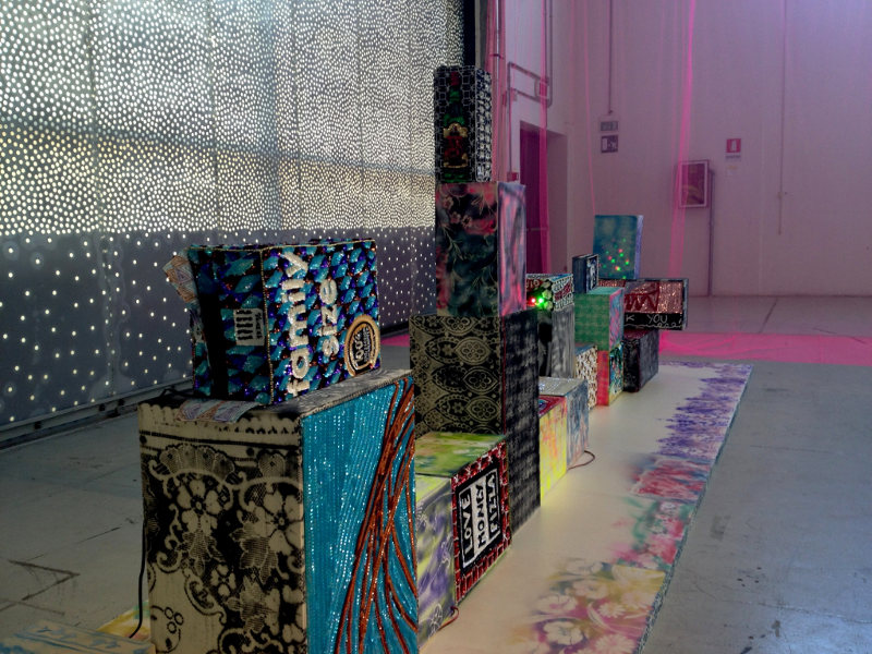 Soundsystem, installation view, Ventura Lambrate 2014