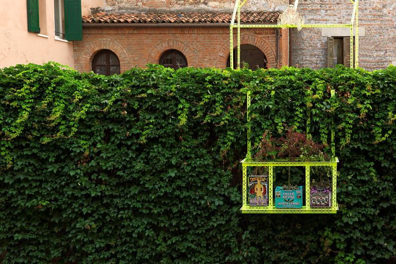 Romeo's Balcony, installation view, Verona, 2013