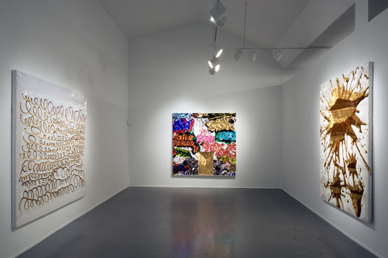 Pimp Art History, installation view, Diana Lowenstein Gallery, Miami, 2010