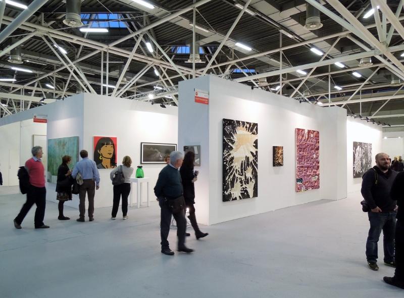 Daniel González, Galleria Valentina Bonomo, ArteFiera Bologna, 2016