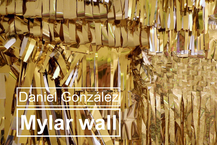Daniel González Studio, Mylar wall, tapestrey, preview
