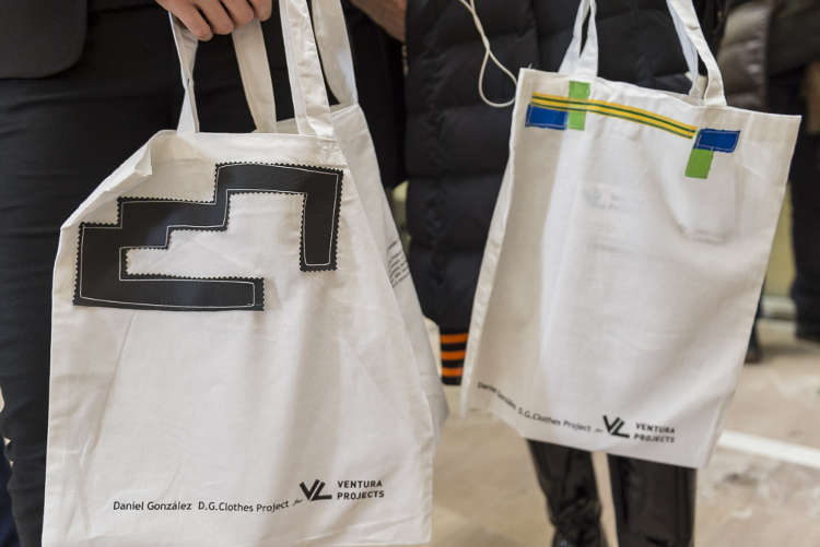 Daniel González D.G. Clothes Project for Ventura Projects, Milan Design Week, 2017