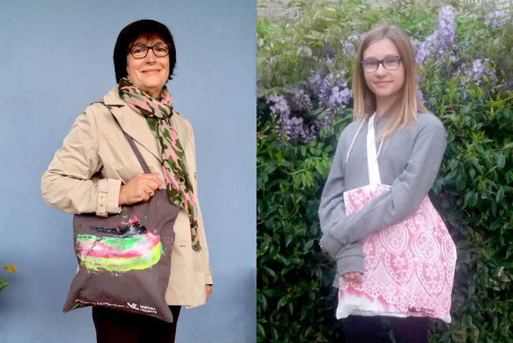 D.G. Clothes Project for Ventura Projects, 2017, 500 unique pieces shopper bags