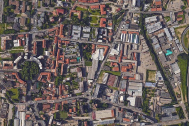 Studio Daniel González, Imaginary country, architettura effimera, Milano - Lambrate, save-the-date 19 settembre 2017