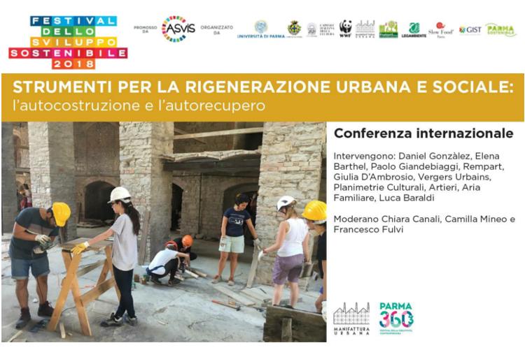 Festival Sviluppo Sostenibile, Parma, Conferenza, 25 maggio, cover