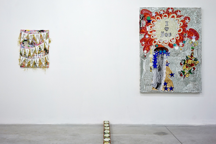 Daniel González, Present Monuments, 2018, solo show, Boccanera Gallery, Trient, Italy