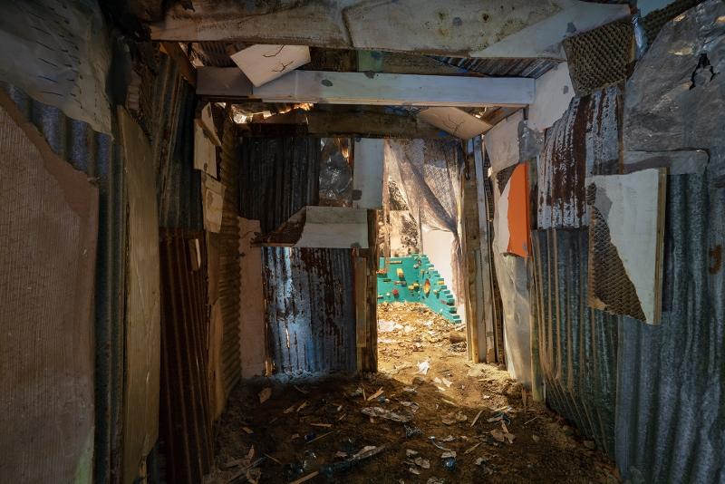 Daniel González, Mi Casa Tu Casa - Reversal Haiti House, 2019, XXII Triennale di Milano