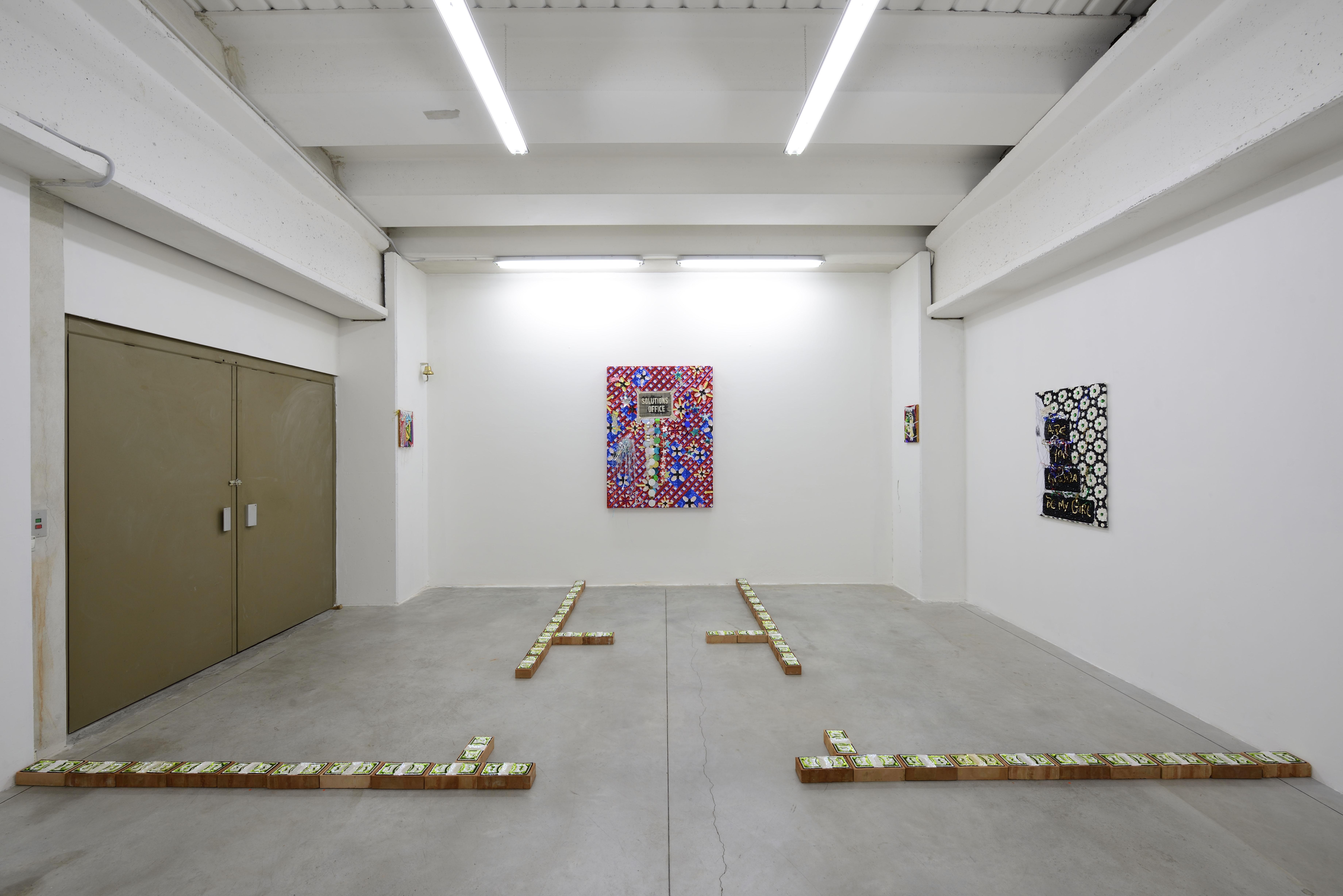 Daniel González, 26mq Solution's Office, mostra personale, Boccanera Gallery, Trento, 2018