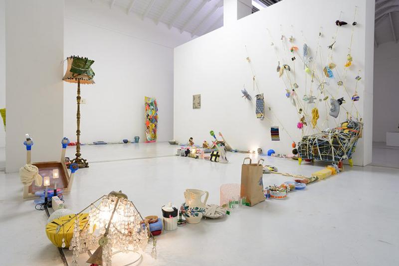 Daniel González, La Casa del Tiempo, mostra collettiva, a cura di Marco Meneguzzo, Studio La Città, 2018